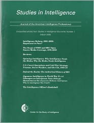 Studies in Intelligence, Journal of the American Intelligence Professional, Unclassified Articles from Studies in Intelligence, V. 54, No. 1 (March 20