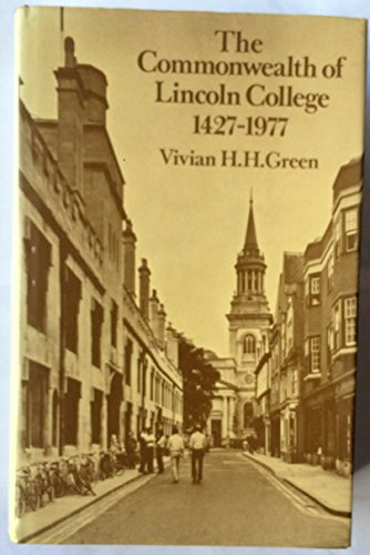 Commonwealth of Lincoln College, 1427-1977