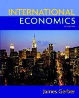 International Economics and Myeconlab Course for International Economics and Myeconlab Student Access Code Card Package - Gerber, James