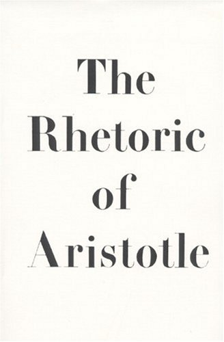 The Rhetoric of Aristotle - Lane Cooper