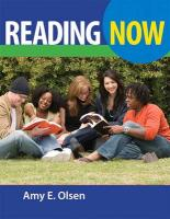 Reading Now (with Myreadinglab Student Access Code Card with eBook) - Olsen, Amy E.