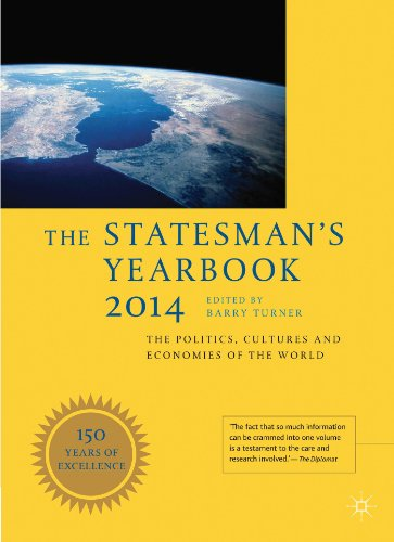 The Statesman's Yearbook 2014: The Politics, Cultures and Economies of the World - Barry Turner
