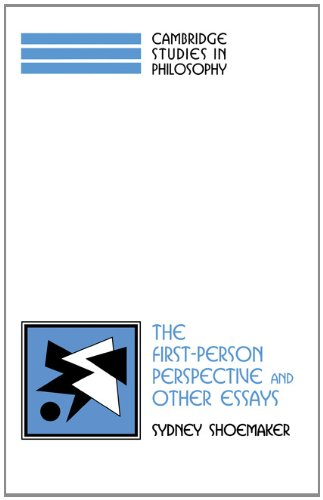 The First-Person Perspective and Other Essays (Cambridge Studies in Philosophy) - Sydney Shoemaker