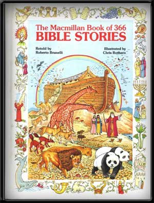 The Macmillan Book of 366 Bible Stories - Roberto Brunelli