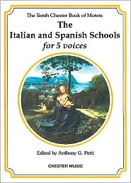 The Italian and Spanish Schools for 5 Voices