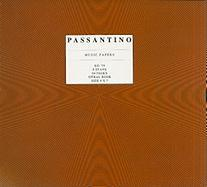 Passantino Music Papers, No. 79, 8 Stave Spiral Book