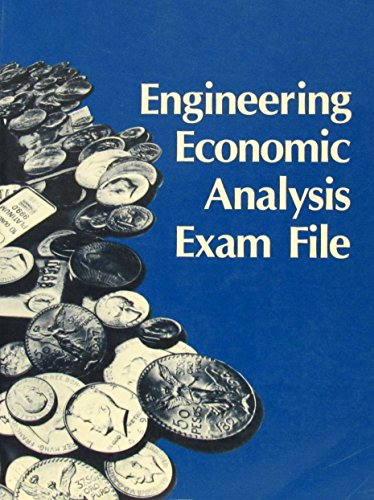 Engineering Economic Analysis Exam File - Newnan, Donald G.