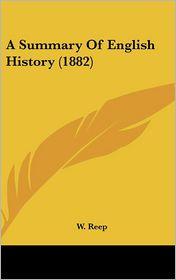 A Summary of English History (1882)
