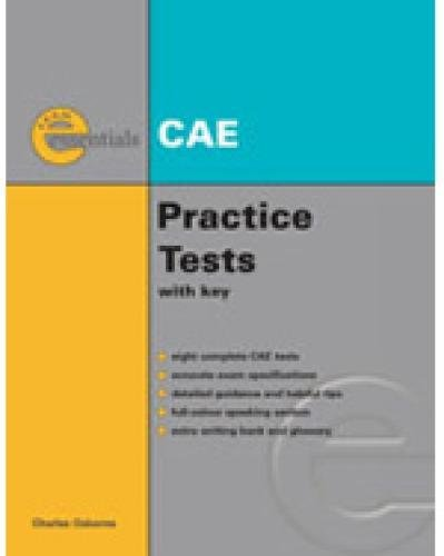 Essential Practice Tests: Cae Without Answer Key (Exam Essentials) - Osborne, Charles