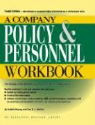 A Company Policy & Personnel Workbook