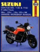 Suzuki GSX/Gs1000, 1100 & 1150 4-Valve Fours Owners Workshop Manual, No. M737: 1979-1988