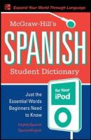 McGraw-Hill's Spanish Student Dictionary for your iPod