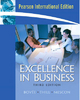 Excellence in Business - Courtland L. Bovee; John V. Thill; Michael H. Mescon