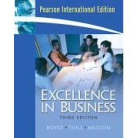 Bovee, C: EXCELLENCE IN BUSINESS