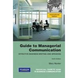 Munter, M: GT MANAGERIAL COMMUNICATION