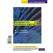 Prealgebra and Introductory Algebra, Books a la Carte Plus MML/Msl Student Access Code Card (for Ad Hoc Valuepacks)