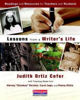 Lessons from a Writer's Life: Readings and Resources for Teachers and Students