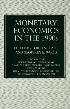 Monetary Economics in the 1990s: The Henry Thornton Lectures, Numbers 9 17 - Capie, Forrest