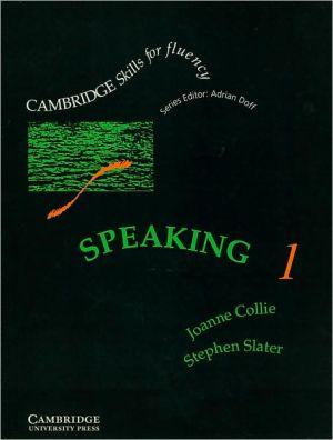 Speaking 1 Pre-intermediate Student's Book