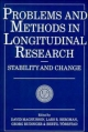 Problems and Methods in Longitudinal Research - David Magnusson; Lars R. Bergman; Georg Rudinger