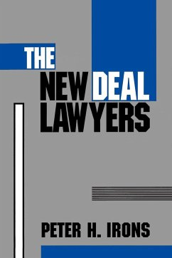 The New Deal Lawyers - Irons, Peter H.