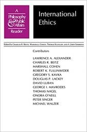 "International Ethics: A ""Philosophy and Public Affairs"" Reader - Beitz, Charles R. / Scanlon, Thomas / Cohen, Marshall"