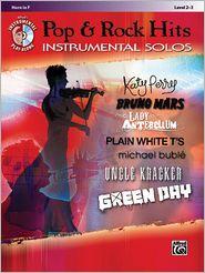 Pop & Rock Hits Instrumental Solos: Horn in F, Book & CD