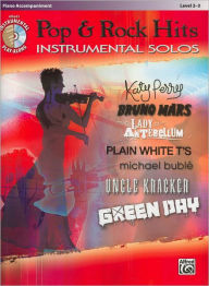 Today's Pop & Rock Hits Instrumental Solos: Piano Acc., Book & CD - Alfred Music