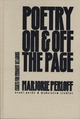 Poetry on and off the Page - Marjorie Perloff