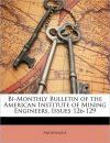 Bi-Monthly Bulletin of the American Institute of Mining Engineers, Issues 126-129 - Anonymous