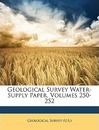 Geological Survey Water-Supply Paper, Volumes 250-252 - U S Geological Survey & Orienteering S