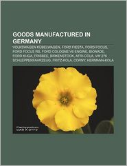 Goods Manufactured In Germany