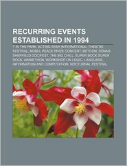 Recurring Events Established In 1994