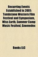 Recurring Events Established in 2001: Miss Earth