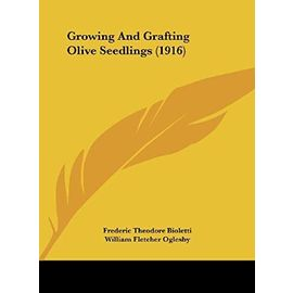 Growing and Grafting Olive Seedlings (1916) - Unknown