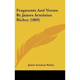 Fragments and Verses by James Arminius Richey (1869) - Unknown