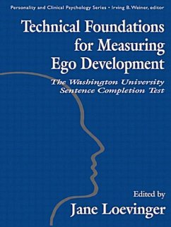 Technical Foundations for Measuring Ego Development: The Washington University Sentence Completion Test - Hy, Le Xuan