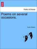 Poems on several occasions.Vol. I. - Dobson, Austin