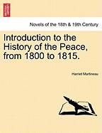 Introduction to the History of the Peace, from 1800 to 1815.