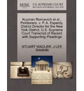 Kuzman Roncevich et al., Petitioners, V. P. A. Esperdy, District Director for the New York District, U.S. Supreme Court Transcript of Record with Supporting Pleadings - Stuart Wadler