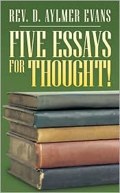 Five essays for thought!