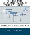 Three Ltd Stirling Engines You Can Build Without a Machine Shop - Jim R Larsen