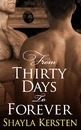 From Thirty Days to Forever - Shayla Kersten