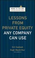 Lessons from Private Equity Any Company Can Use Orit Gadiesh Author