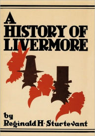A History Of Livermore Maine Reginald H. Sturtevant Author