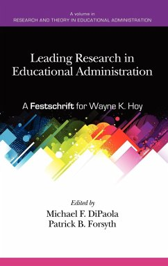 Leading Research in Educational Administration - Herausgeber: Dipaola, Michael Forsyth, Patrick B.