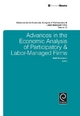 Advances in the Economic Analysis of Participatory & Labor-Managed Firms - Antti Kauhanen