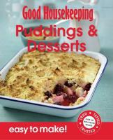 Easy to Make! Puddings & Desserts