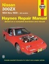 Nissan 300ZX All Models 1984-89 Automotive Repair Manual - Homer Eubanks