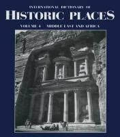 Middle East and Africa: International Dictionary of Historic Places - Sharon La Boda#Robert M. Salkin